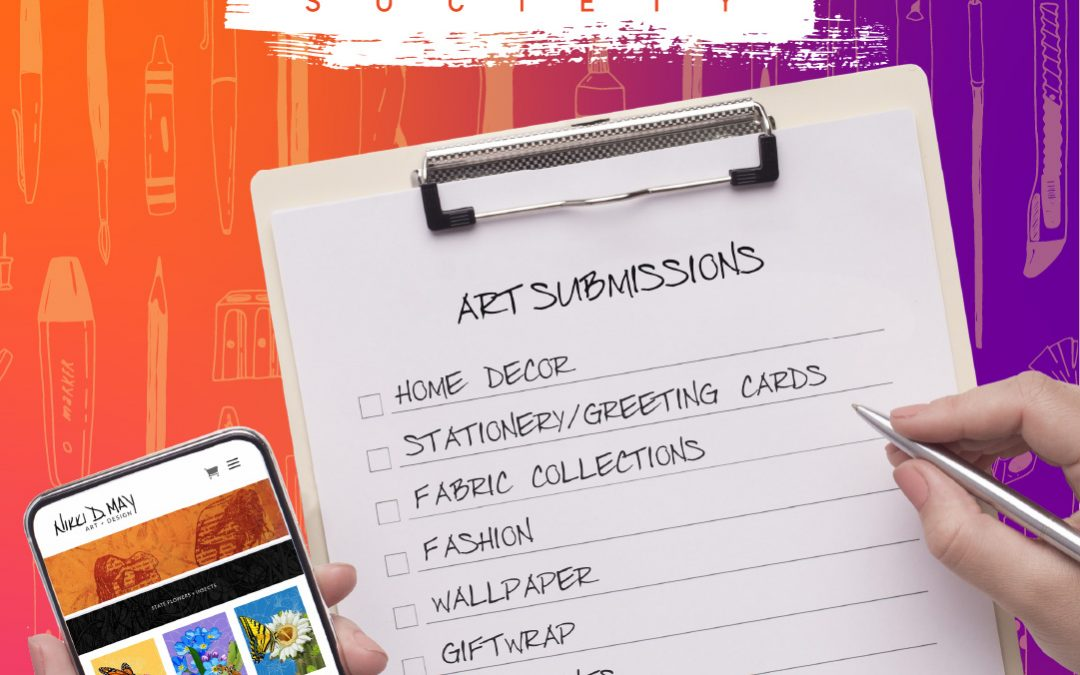 The Process of Submitting Your Art