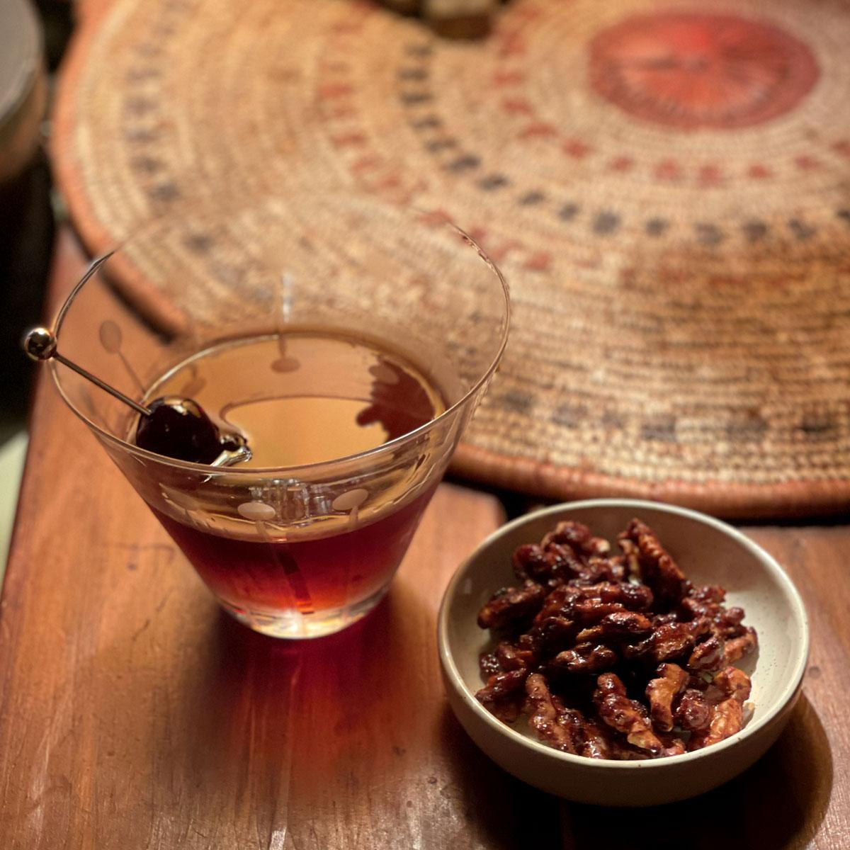 black walnut manhattan