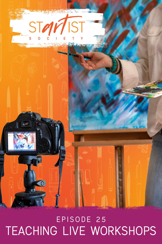 Teaching Live Art Workshops