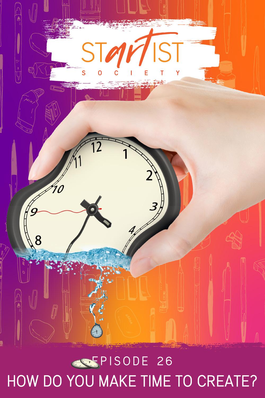 How do you make time to create?