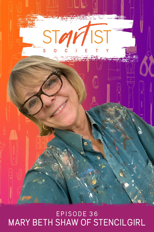 Mary Beth Shaw of StencilGirl